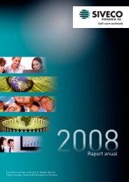 Raport anual - SIVECO Romania