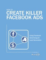 How to Using Facebook Advertising for Lead Generation
