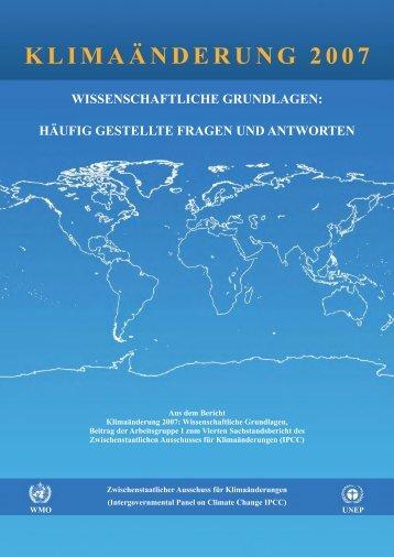 Klimaänderung 2007 - Deutsches Klima Konsortium