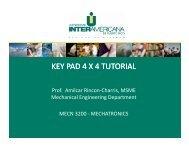 presentacion 5. key pad tutorial - Universidad Interamericana de ...