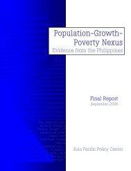 Population-Growth- Poverty Nexus