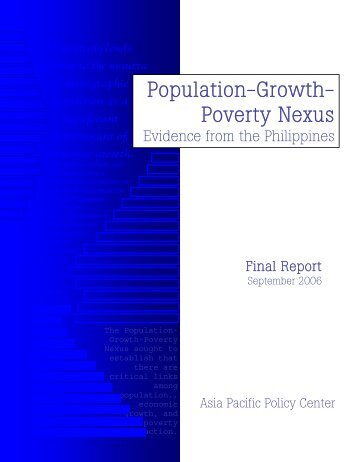 Population-Growth- Poverty Nexus