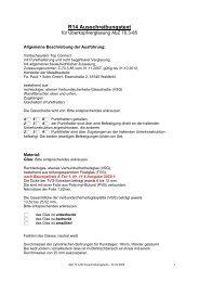 Ausschreibungstext AbZ-70.3-85 - Pauli