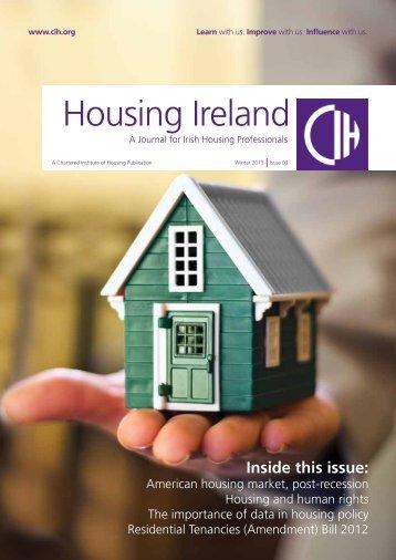 Housing Ireland - Chartered Institute of Housing