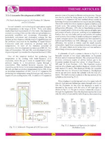 Cryocooler Development at RRCAT