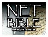 A New - Biblical Studies Foundation