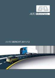 JAHRESBERICHT 2011/12 - Auto Hrvatska