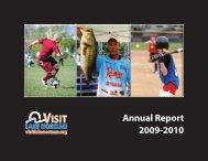 Annual Report 2009-2010 - Visit Lake Norman