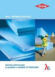 Dow - Building Solutions Splošne informacije in podatki o izdelkih ...