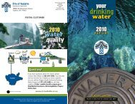 2010 Water Quality Report - City of Tualatin