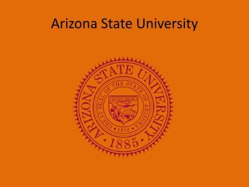 Arizona State University - Pierce College