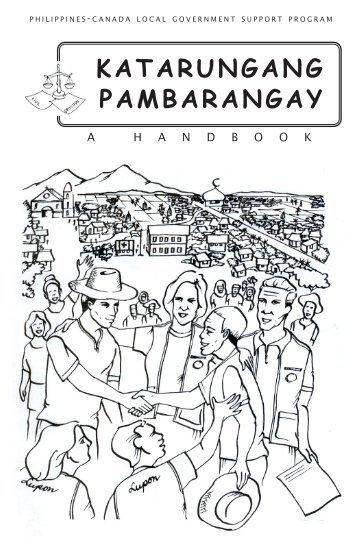 KATARUNGANG PAMBARANGAY - LGRC DILG 10