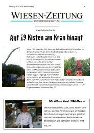 Auf 19 Kisten am Kran hinauf - Du-bist-online.de