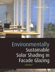 Environmentally - MicroShade™ Solar shading solar control sun ...