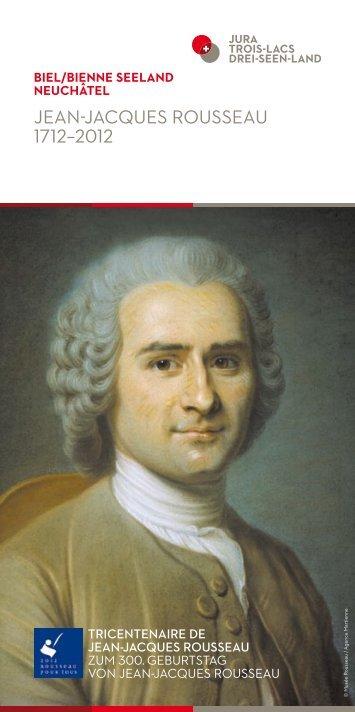 Jean-Jacques rousseau 1712–2012 - WOLFsWEB