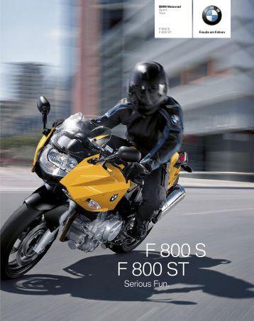 Katalog F 800 S (PDF, 1,7 MB) - BMW Motorrad Österreich