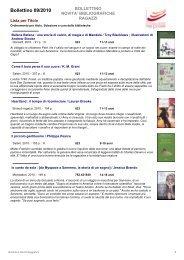 Bollettino 09/2010 - Fondazione per leggere