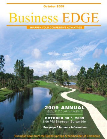 October 2009 - Bonita Springs Chamber of Commerce