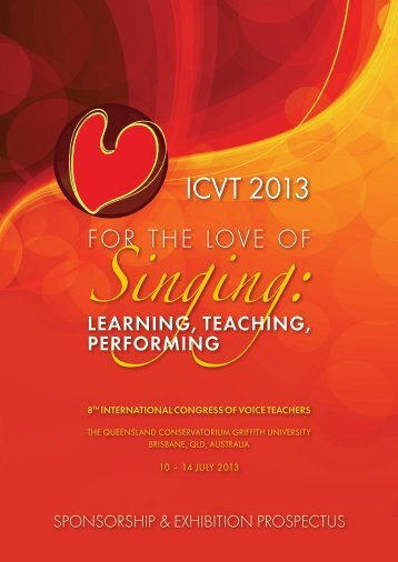 ICVT 2013 - Conference On The Net