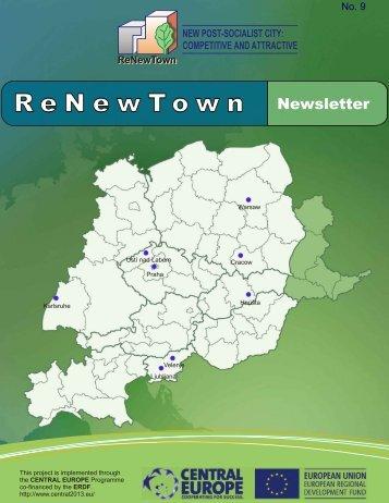 Newsletter No 9 - ReNewTown