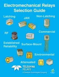 Electromechanical Relays Selection Guide.pdf - Military Systems ...