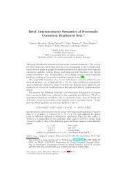 Semantics of Eventually Consistent Replicated Sets