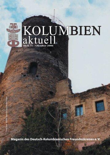 Heft 71 - Deutsch-Kolumbianischer Freundeskreis eV