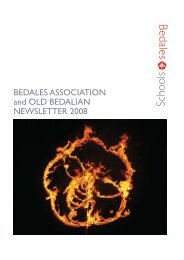 Bedales Association and Old Bedalian ... - Bedales Schools