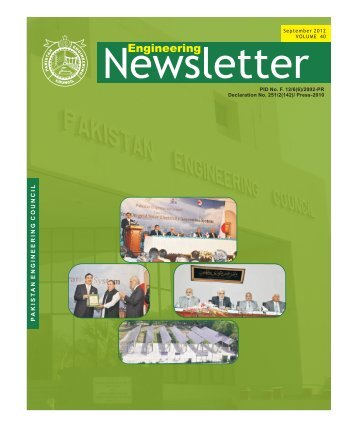 Volume-40 - Pakistan Engineering Council