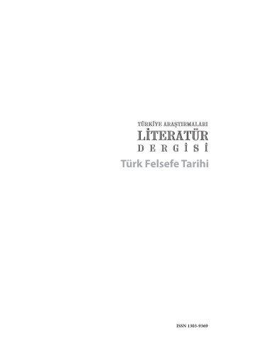 talid 17 (pdf) - Bilim ve Sanat Vakfı