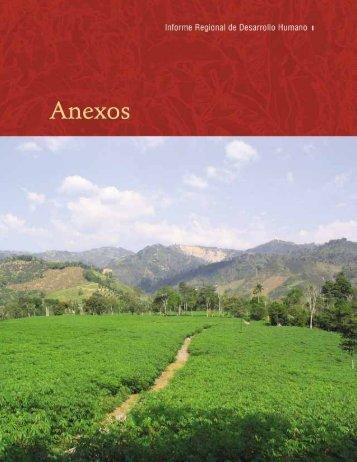 Un pacto por la Region Anexos pdf - Programa de las Naciones ...