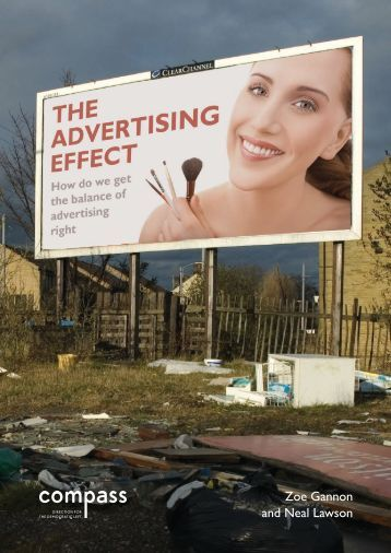 the effects of advertisements on society Advertisements and its impact on children  catch them young is the new advertising mantra most of the advertisements especially in television are targeted to children.