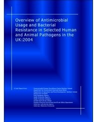 Overview of Antimicrobial Usage and Bacterial Resistance - 2004