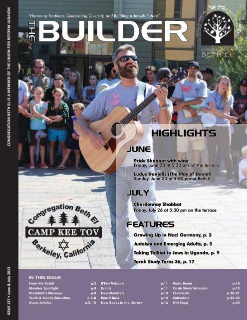 June & July 2013 - Congregation Beth El