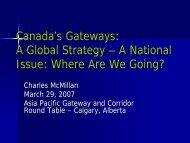 Atlantic Canada: Politics and Policy Strategy - Canada's Asia-Pacific ...