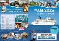 MS AMADEA – ERLEBNISREISE Höhepunkte ... - Columbus Reisen