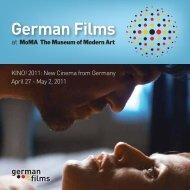MoMA 2011 - german films