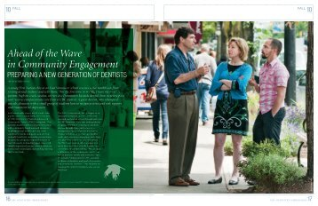 Ahead of the Wave in Community Engagement - UBC Dentistry