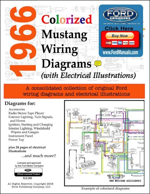 [DIAGRAM_34OR]  DEMO - 1966 Colorized Mustang Wiring Diagrams - FordManuals.com | 1966 Mustang Colorized Wiring Diagram Ford For Sale |  | Yumpu