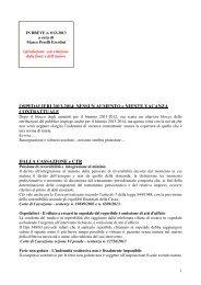 scarica le brevia num° 012 del 2013 - PERELLIERCOLINI.it