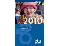 2010 DW Jahresbericht - Delme-Werkstätten