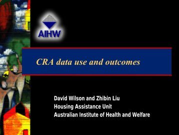 Wilson, David - National Housing Conference