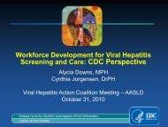 Hepatitis: Blah Blah Blah - CDC Viral Hepatitis Action Coalition