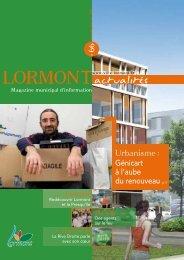Le portail de la ville de Lormont