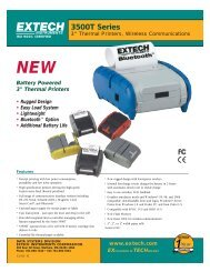 Extech 3500T Series Portable Printer - Quadgmbh.de
