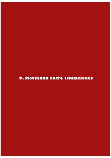 Capitulo 9 Movilidad entre titulaciones - UPSA