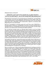 Sensation durch KTM beim Tuner gp - KTM X-Bow