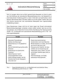 6 Automatische Messwerterfassung - Geotechnisches Ingenieurbüro ...