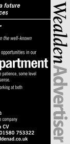 VAN DRIVER - The Wealden Advertiser - Page 3