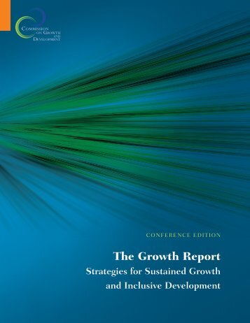 The Growth Report - Yale Center for the Study of Globalization ...